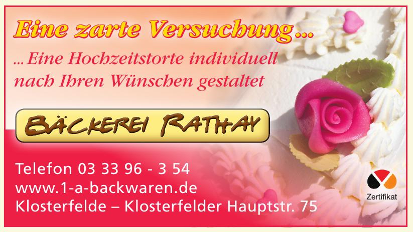 Bäckerei Ullrich Rathay
