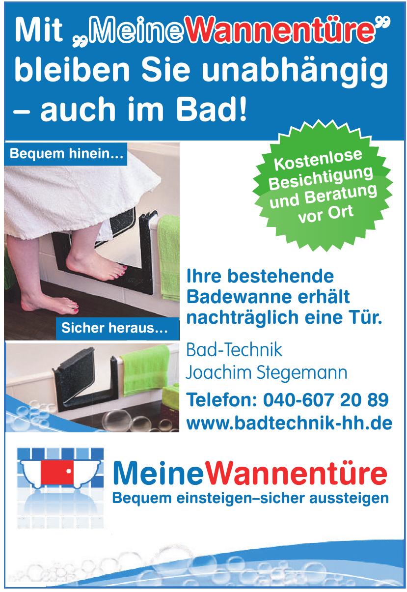 Bad-Technik Joachim Stegemann