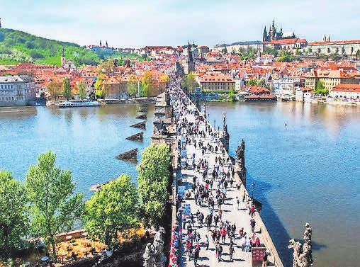 Die Prager Kralsbrücke Foto: BM