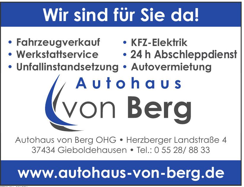 Autohaus von Berg OHG