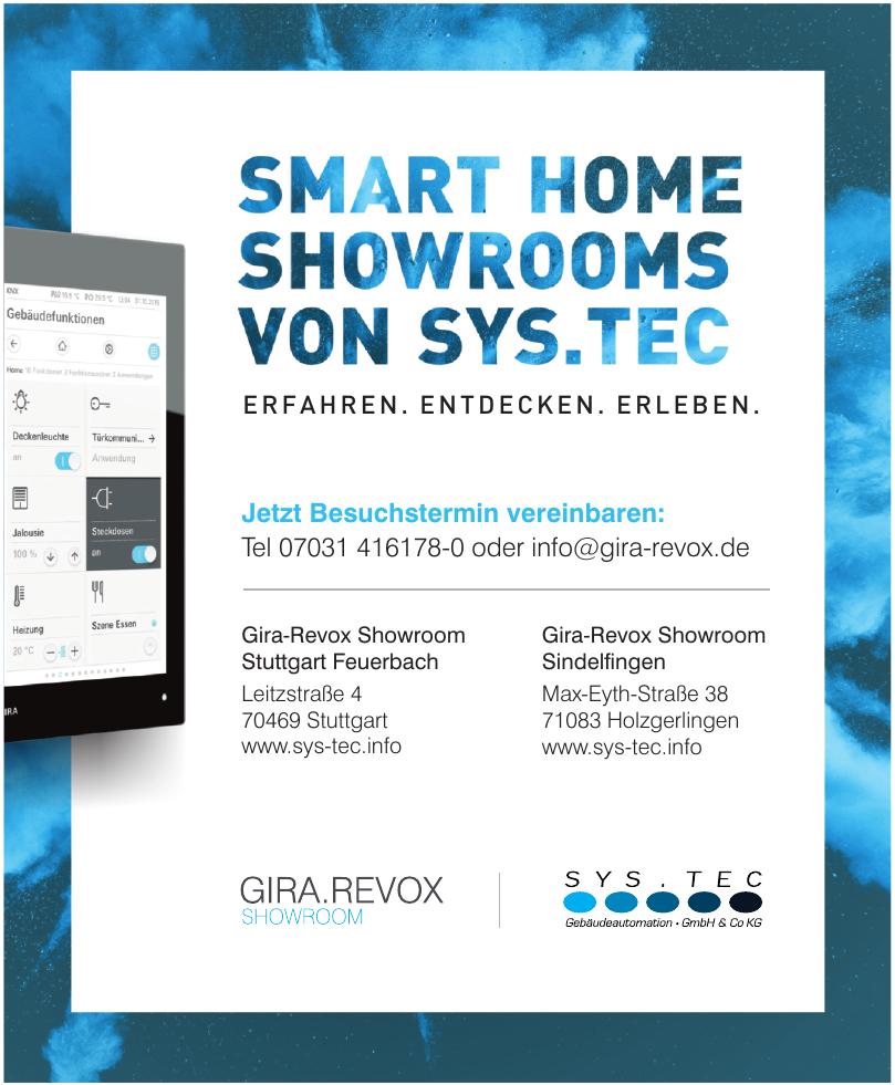 Gira-Revox Showroom Stuttgart Feuerbach
