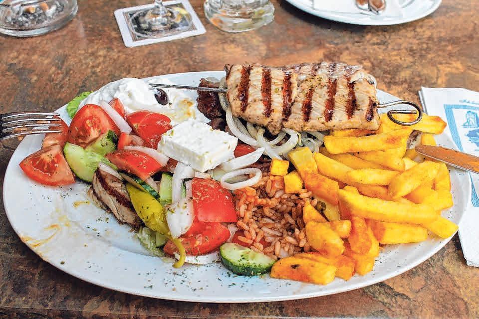 Die Griechen haben sich mit ihren Restaurants schon früh in Deutschland und auch in der Region angesiedelt.