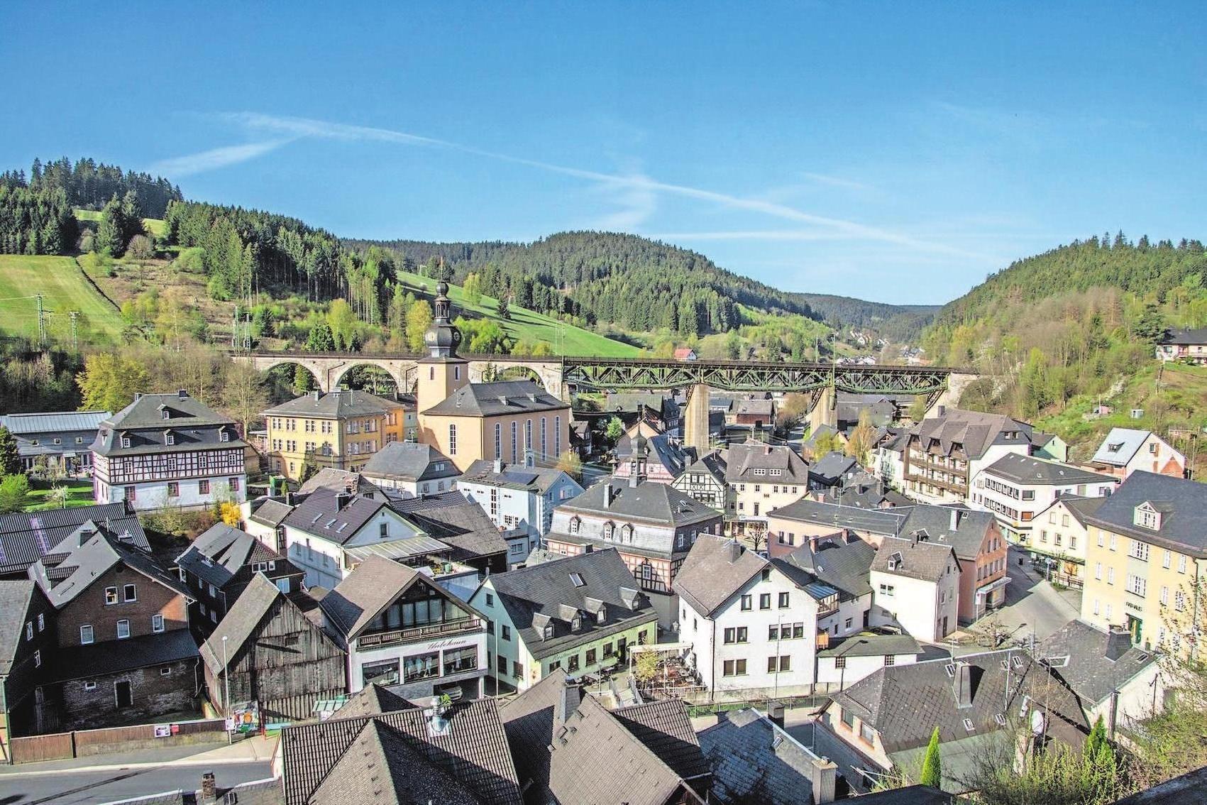 Am 2. Juni feiert Ludwigsstadt sein 750-jähriges Jubiläum. Foto: Siegfried Scheidig