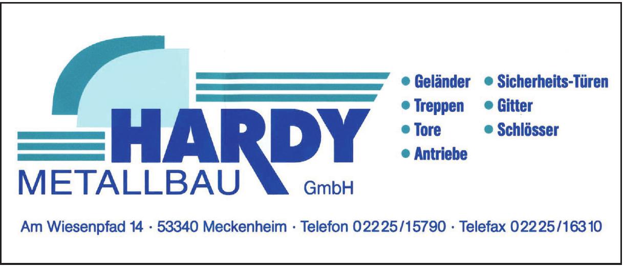 Hardy Metallbau GmbH