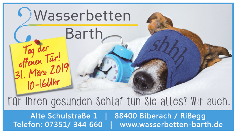 Wasserbetten Barth