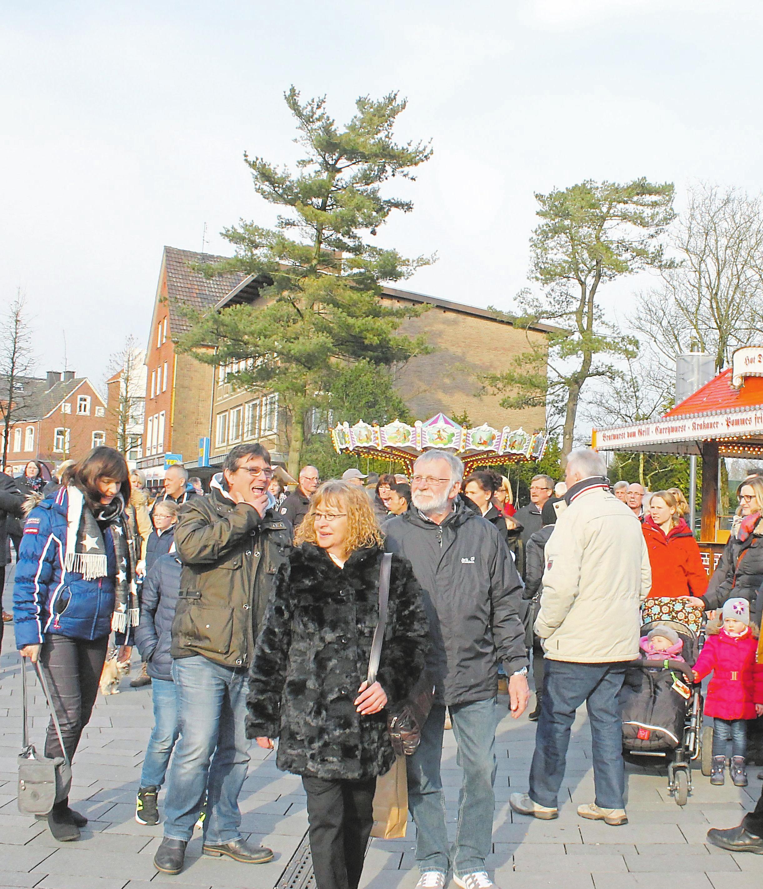 Zum Shopping-Start in den Frühling werden in Ochtrup wieder zahlreiche Besucher erwartet.
