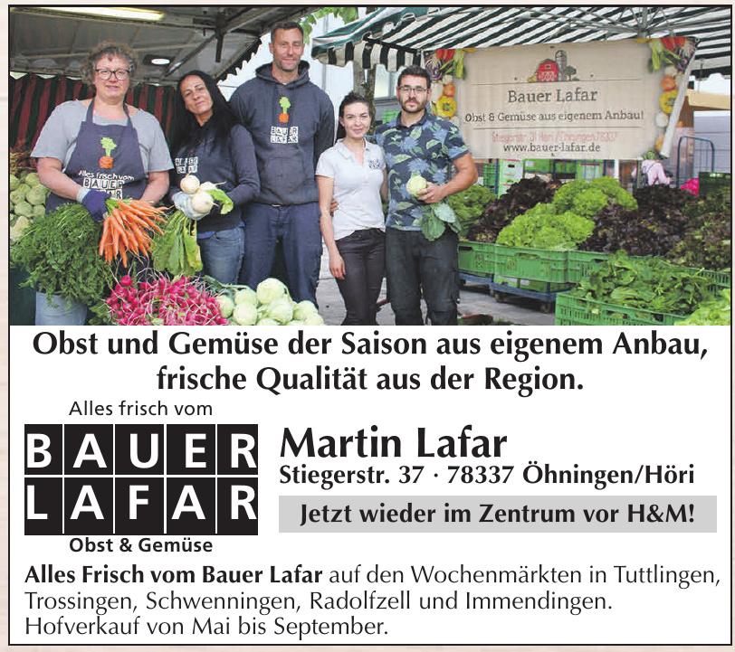Obst & Gemüsebau Martin Lafar