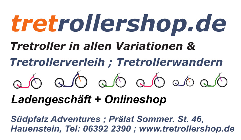 Tretrollershop - Südpfalz Adventures