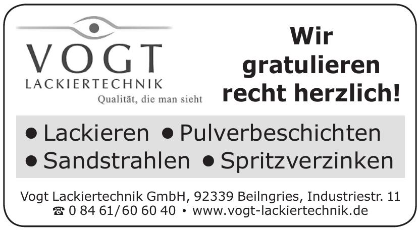 Vogt Lackiertechnik GmbH