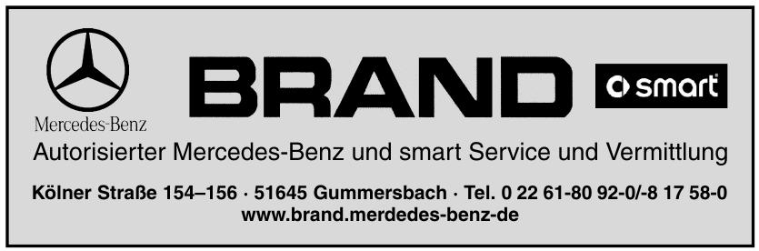 Brand Autorisierter Mercedes-Benz und smart Service und Vermittlung