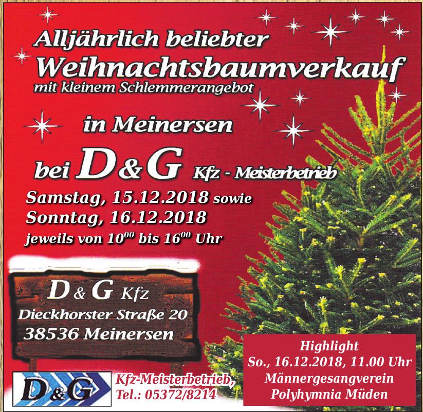 D & G Kfz - Meisterbetrieb