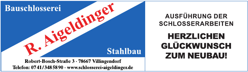 Schlosserei Ralf Aigeldinger