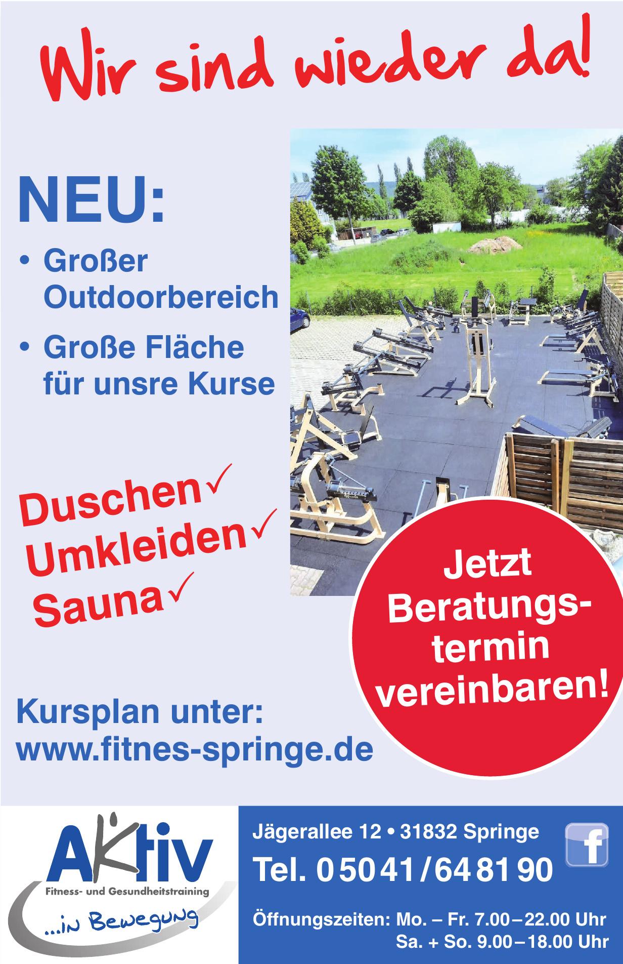 Aktiv Fitness- und Gesundheitstraining