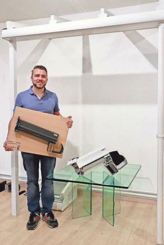 Konstruktion: BÖLSCHE Glas- und Bauelemente fertigt individuelle Terrassendächer für jedes Haus.