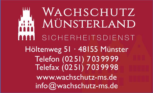 Wachschutz Münsterland Sicherheitsdienst