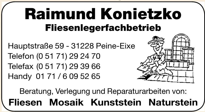 Raimund Konietzko Fliesenlegerfachbetrieb