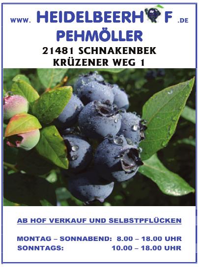 Heidelbeerhof Pehmöller