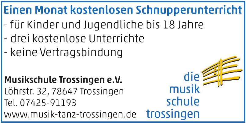 Musikschule Trossingen e. V.