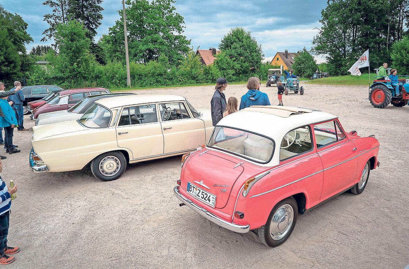 Am Sonntag steigt die Neuauflage des Treffen historischer Fahrzeuge und Landmaschinen am Lerchenbühl. Foto: Eric Waha