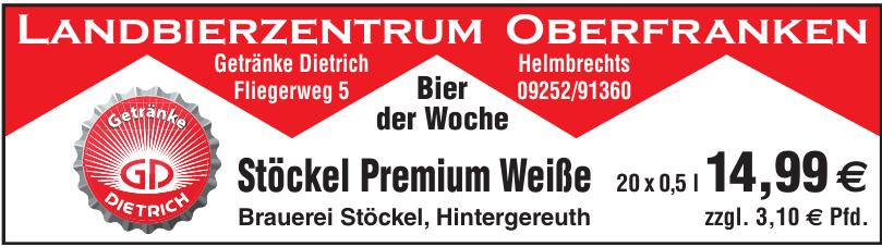 Landbierzentrum Oberfranken Getränke Dietrich