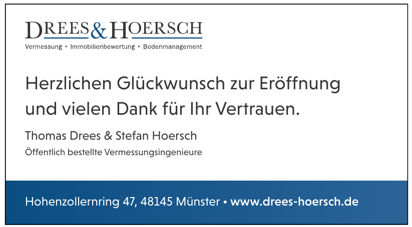 Thomas Drees & Stefan Hoersch