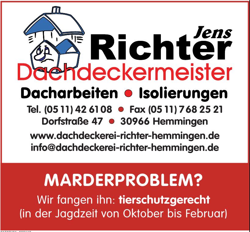 Jens Richter Dachdeckermeister
