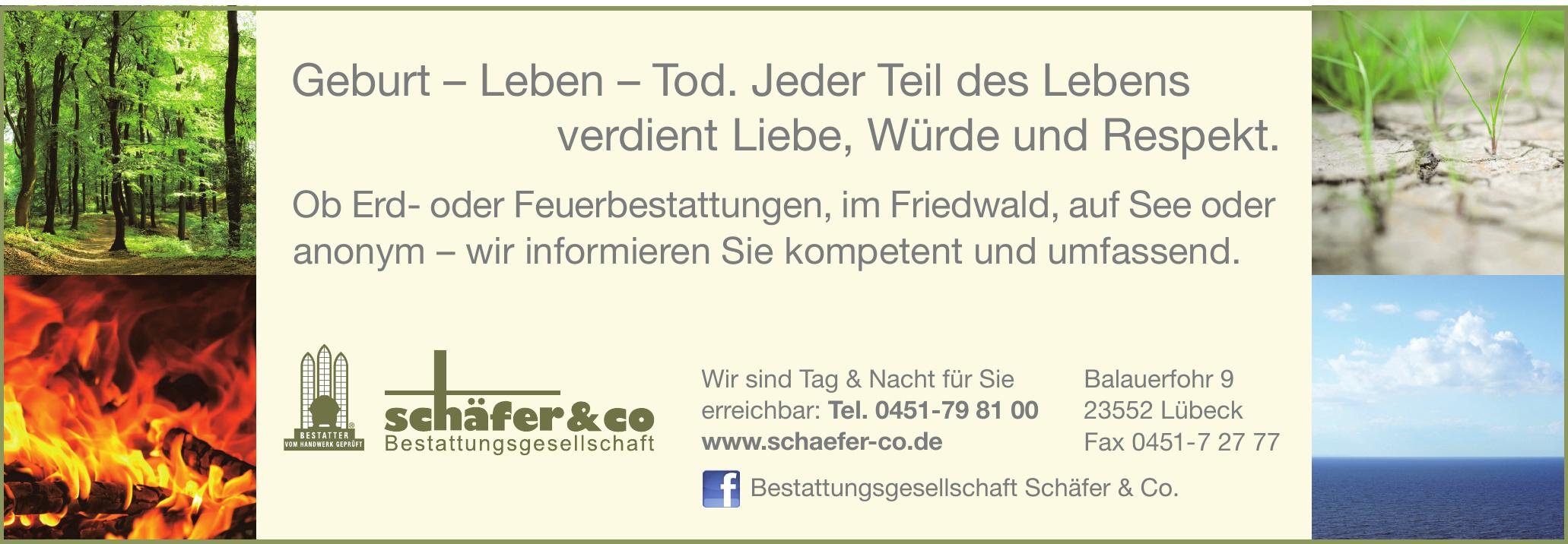 Bestattungsgesellschaft Schäfer & Co.