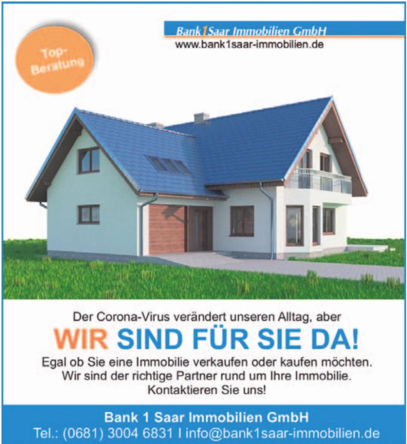Bank 1 Saar Immobilien GmbH