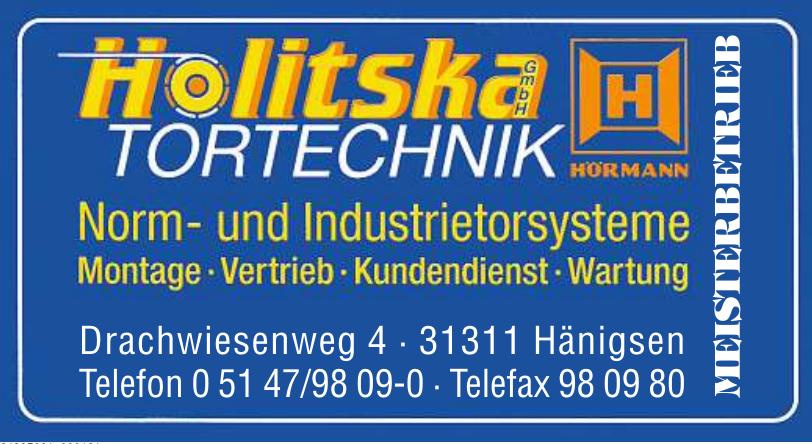 Holitska Tortechnik GmbH