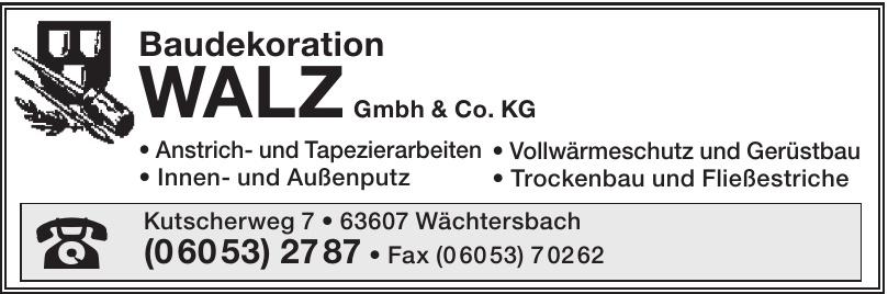 Baudekoration WALZ GmbH & Co. KG