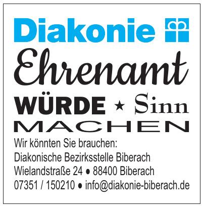 Diakonische Bezirksstelle Biberach