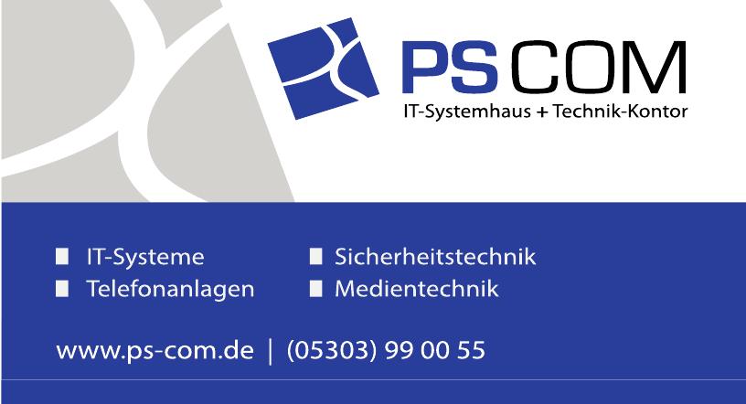 PS-COM IT-Systemhaus + Technik-Kontor