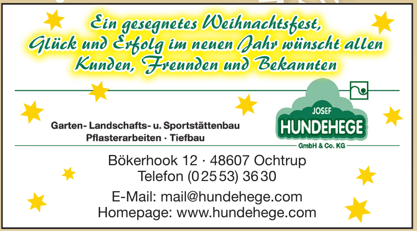 Josef Hundehege GmbH & Co. KG
