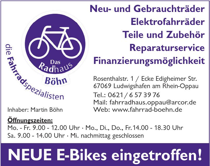 Das Radhaus Böhn