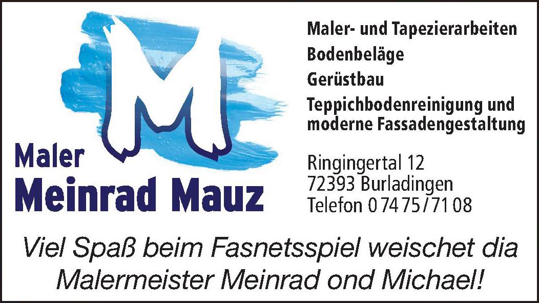 Maler Meinrad Mauz