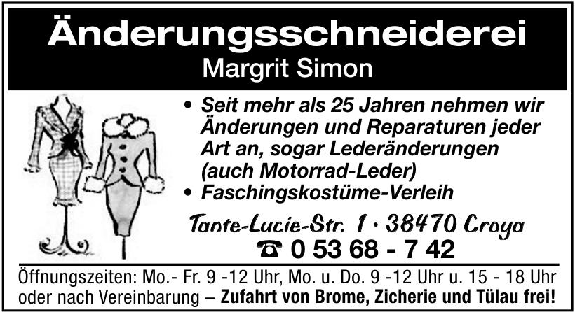 Änderungsschneiderei Margrit Simon