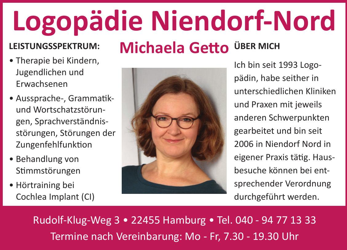 Logopädie Niendorf-Nord Michaela Getto