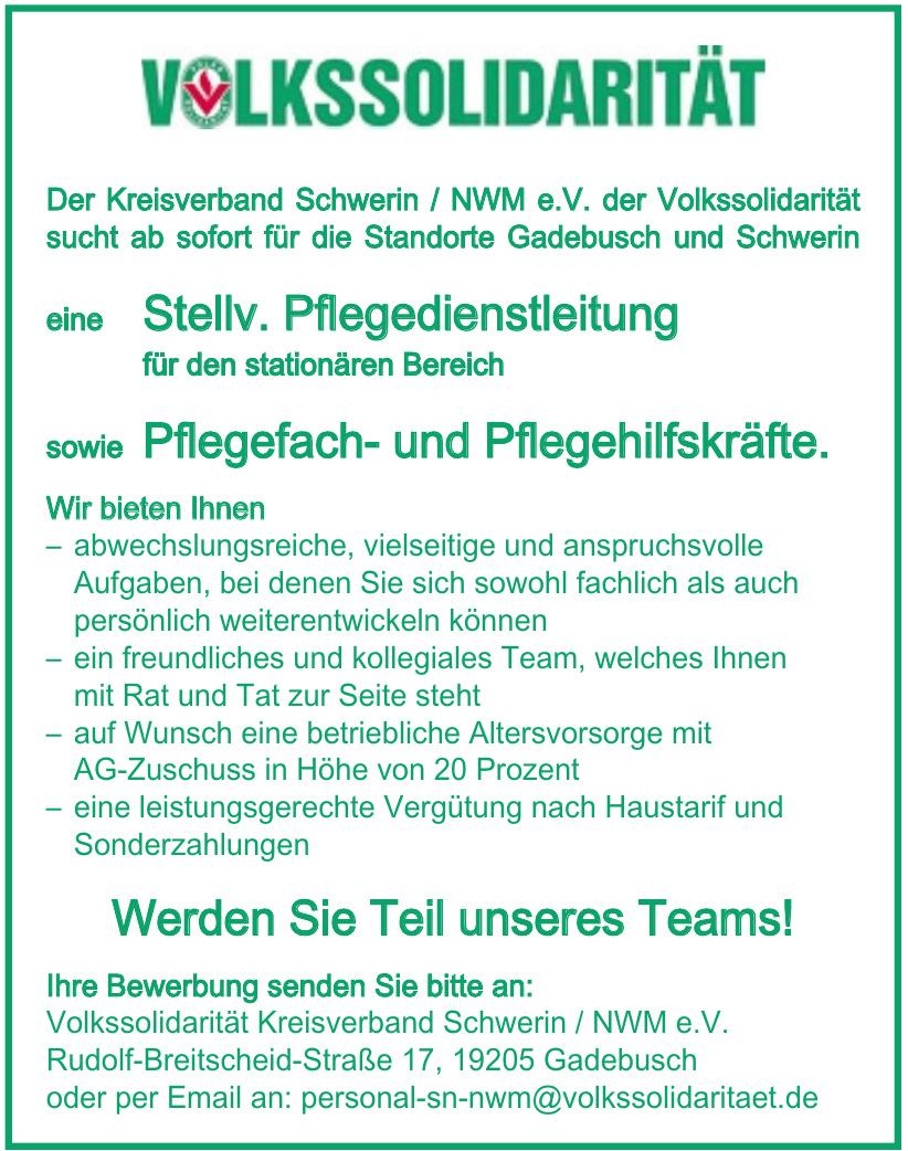 Volkssolidarität Kreisverband Schwerin / NWM e.V.