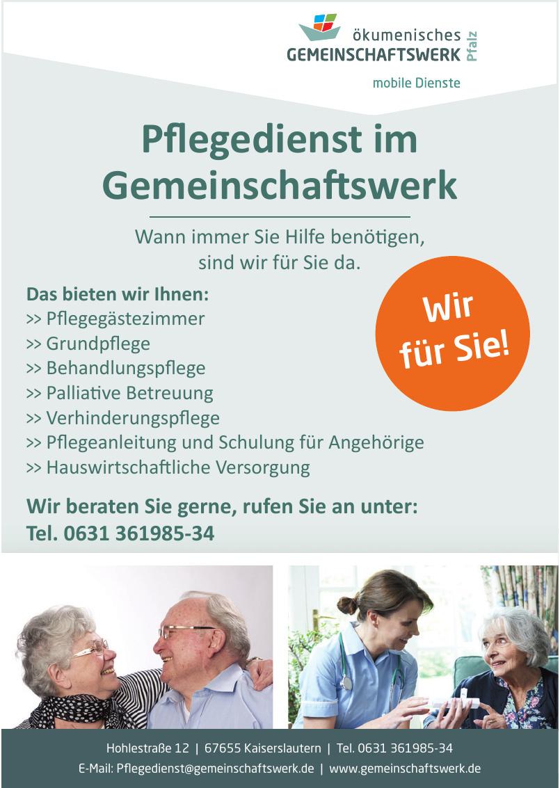 Ökumenisches Gemeinschaftswerk Pfalz