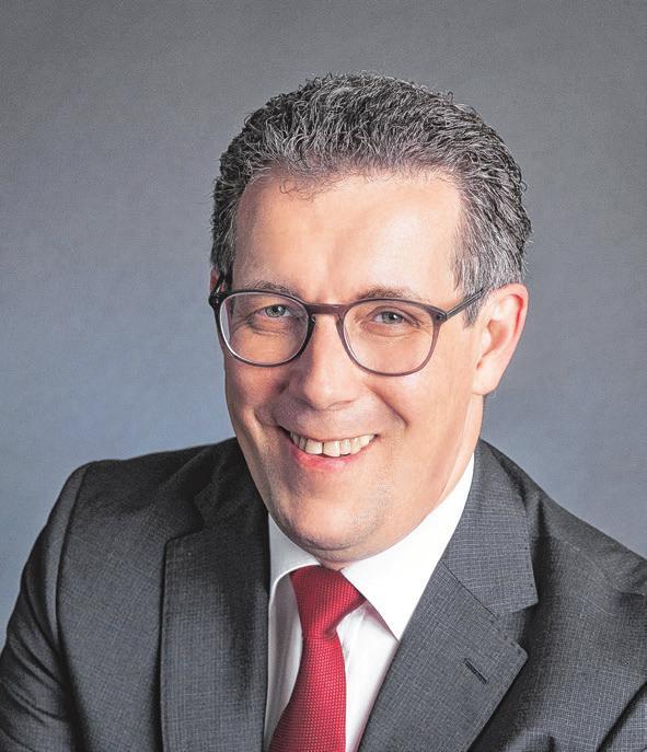 Peter Polta, Landrat, des Landkreises Heidenheim