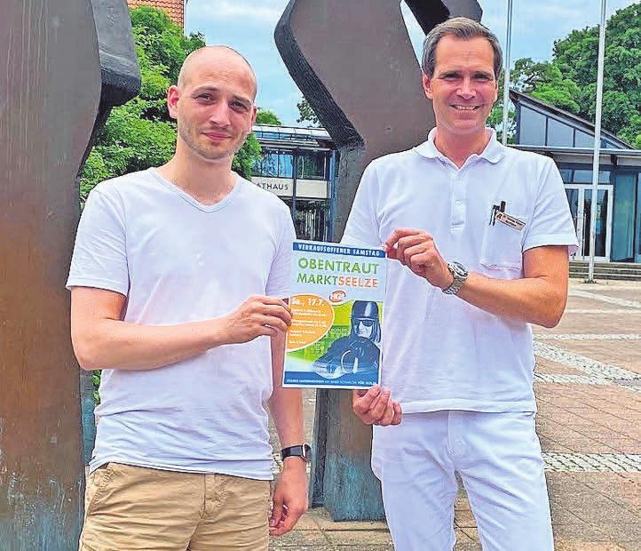Kevin Quadt (links) und Dr. Thomas Meyer freuen sich auf das Wochenende.