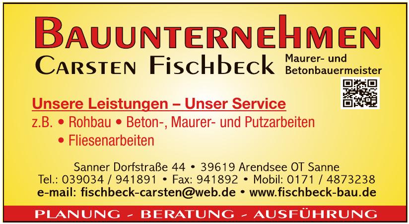 Bauunternehmen Carsten Fischbeck