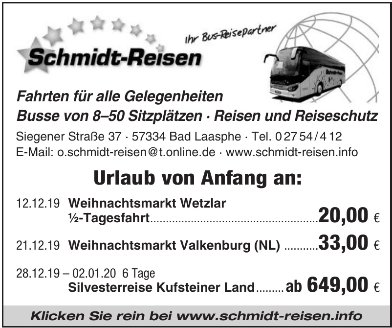 Schmid-Reisen