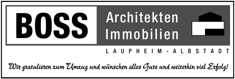 Boss Architekten, Immobilien