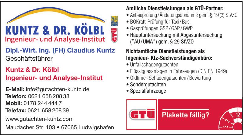 Kuntz & Dr. Kölbl Ingenieur- und Analyse-Institut