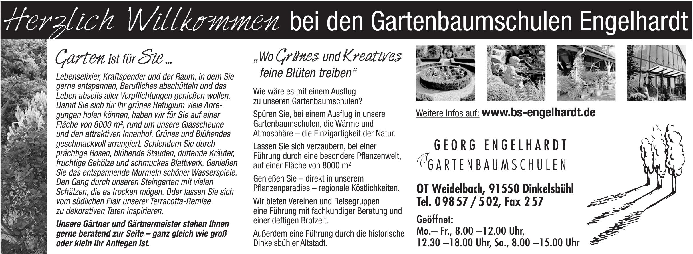 Georg Engelhardt Gartenbaumschulen