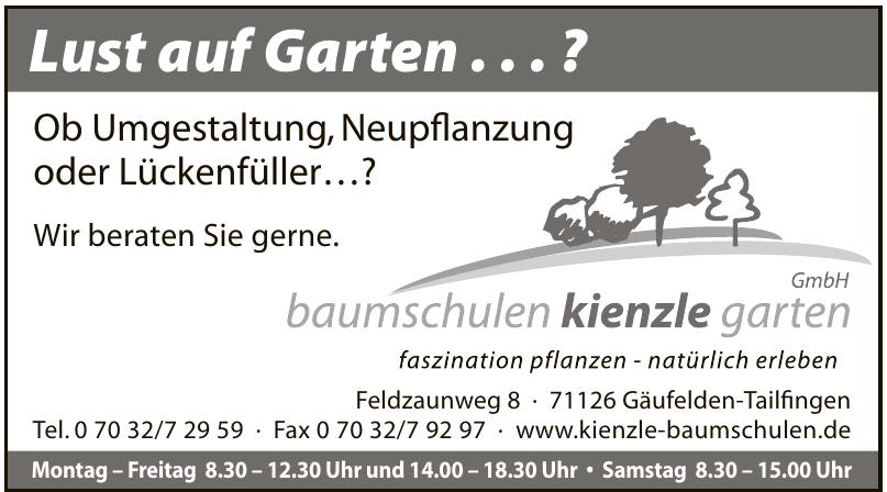 Baumschulen Kienzle Garten GmbH