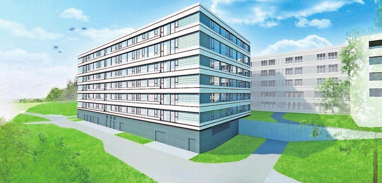 Eine Gesundheitsversorgung von hoher Qualität ist mit der Sanierung und Erweiterung der Klinik Naila garantiert. Der erste Bauabschnitt ist abgeschlossen, zwei weitere folgen.