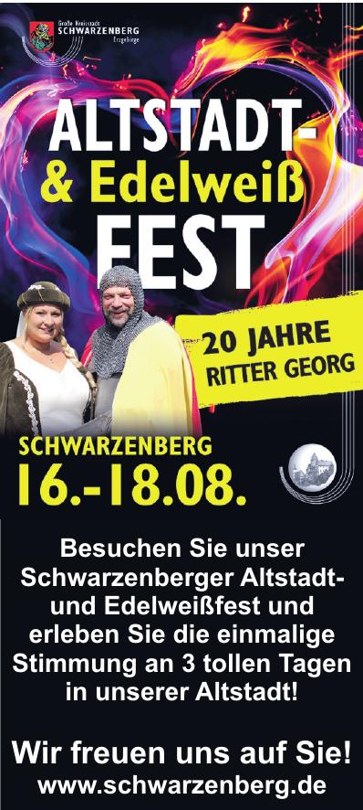 Große Kreisstadt Schwarzenberg Erzgebirge