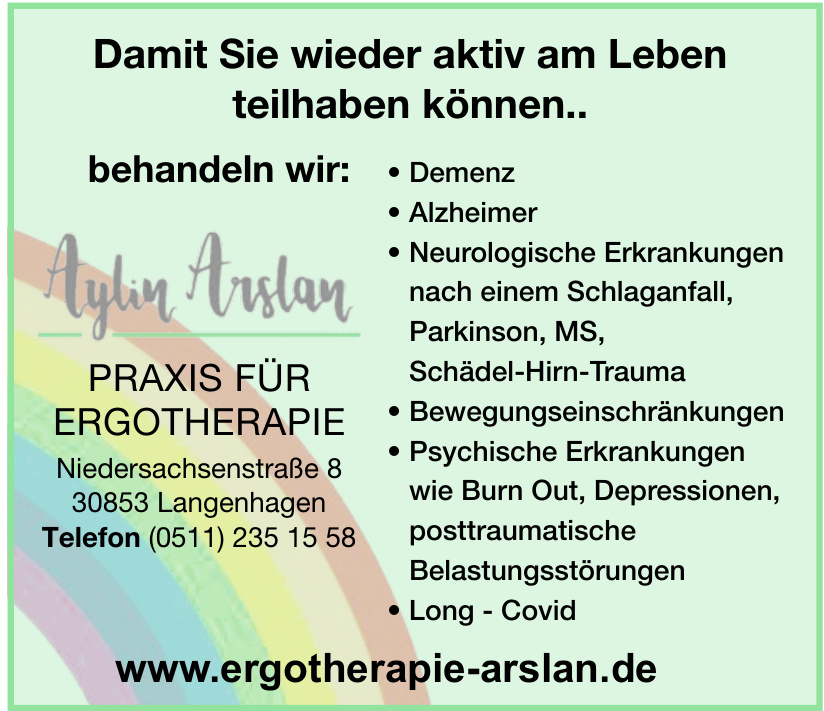 Ergotherapie Arslan